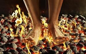 Queimação nas pernas e pés